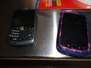 Cell phones in the kitchen