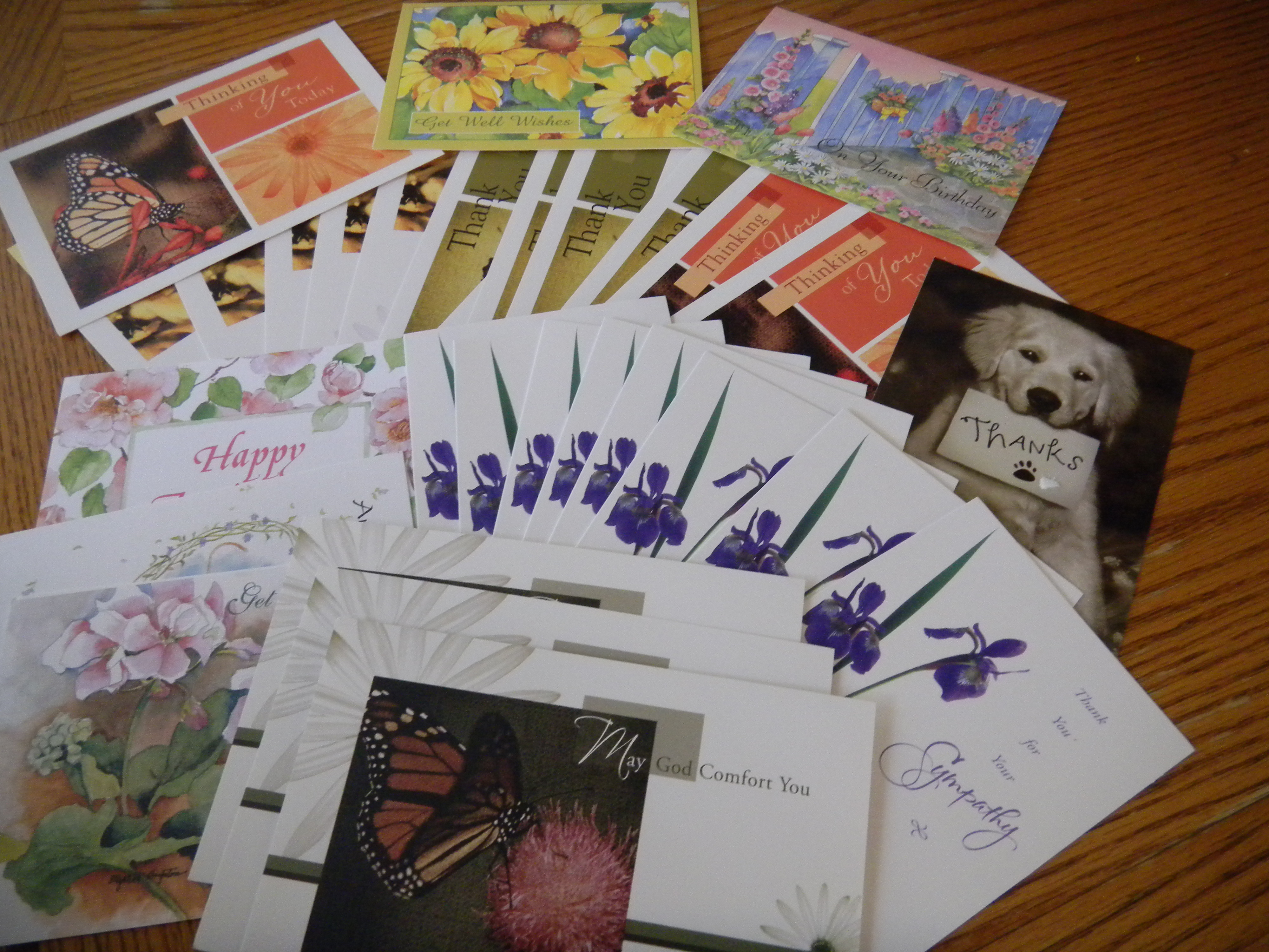 Go green by donating greeting cards think outside the bin for m4hsunfo