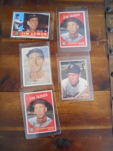 Jim Lemon baseball cards