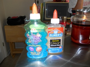 Elmer's glue bottles