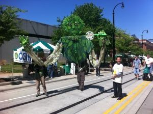 Earth Day parade