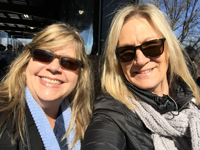 Tracy Himes and Melinda Anderson