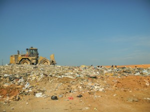 Landfill in Meck County
