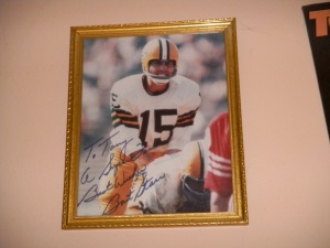Autographed Picture of Bart Starr