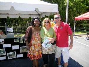 Matt, Ramona and Tracy Himes