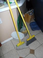 Old brooms