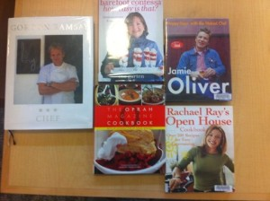 Unused cookbooks