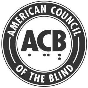 American Council of the Blind logo