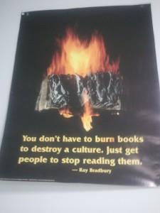 Book Burning Poster