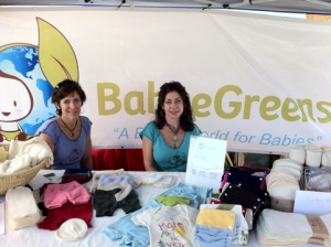 Babee Greens at OrganicFest