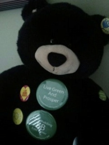 Going Green Teddy Bear