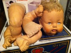 Doll in need of repair