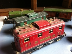 Antique Lionel trains