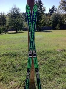 Green skis