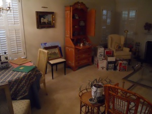 Downsizing a lifetime of possessions