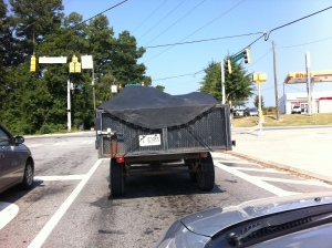 Trampoline for a tarp