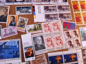 U.S. history depicted in stamps
