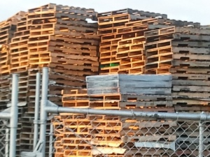 Wood palettes
