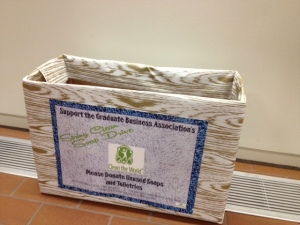 recycle soap, toiletries