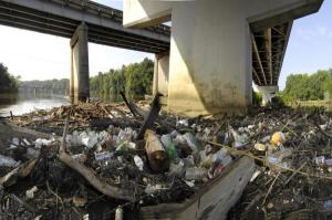 River trash-pic from keeping watch