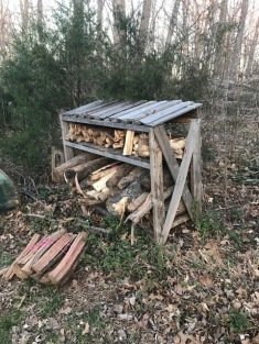 Wood Rack from Pallets